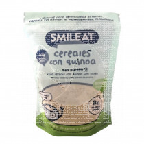 Papilla De Cereales sin gluten con Quinoa Eco Smileat