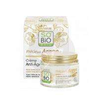 Crema de día Antiedad Ácido hialurónico y Argán 50ml So' Bio Etic