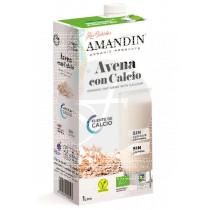 Bebida Vegetal De Avena con Calcio, Eco 1L Amandin