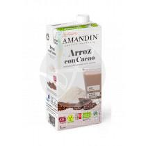 Bebida Vegetal De Arroz y Cacao Eco Amandin