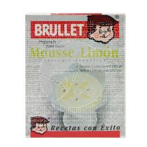 Mousse Al Limon sin gluten Brullet