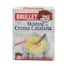 Mousse A La Crema Catalana sin gluten Brullet