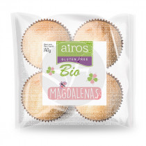 Magdalenas sin gluten bio Airos