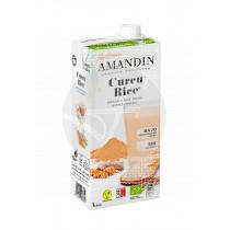 Bebida Vegetal De Arroz con Curcuma Eco Amandin