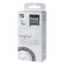 Preservativo Original Vegano 10 unidades Fair Squared
