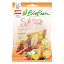 Golosinas De Fruta Bio sin gluten sin Gelatina Biobon