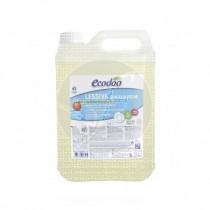 Detergente liquido concentrado Melocotón Eco 5 lt Ecodoo