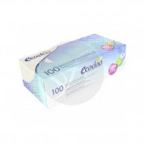 Pañuelos Caja Triple Capa Eco 100uds Ecodoo