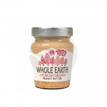 Crema De cacahuete Crunchy Bio 227gr Whole Earth