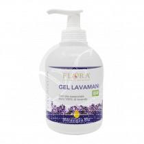 Gel higienizante lavamanos con Lavanda y Arbol del te 250ml Flora