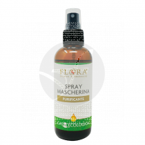 Spray purificante higienizante mascarillas 100ml Flora