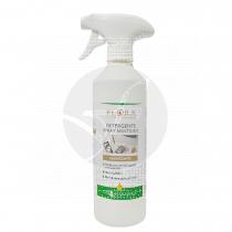 Detergente higienizante spray Superficies 500ml Flora