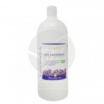 Gel higienizante lavamanos lavanda arbol de té Bio 1lt Flora.