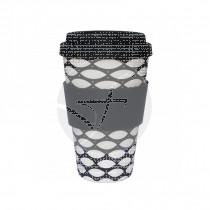 Vaso De Bambú Blanco y Negro Basketcase Alternativa3