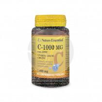 Vitamina C 1000mg +Zinc 60 comp Nature Essential