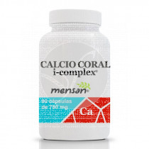 Calcio Coral I-Complex 780Mg 90 capsulas Mensan