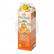 Zumo Albaricoque Bio Brik 1L Hollinger