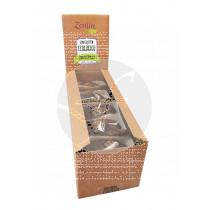Brownie Chocolate con Nueces Bio sin gluten Zealia- Expositor 10 Ud