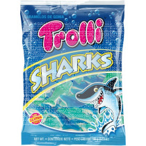 Golosinas Tiburones sin gluten Trolli