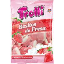Golosinas Besitos De Fresa sin gluten Trolli
