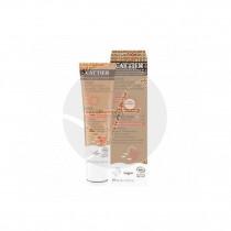 Crema solar con color spf50 cara y escote bio, vegano 40 ml Cattier