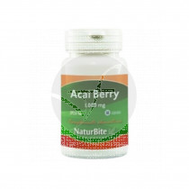 Acai Berry Capsulas 1000Mg Naturbite