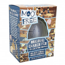 Huevo de chocolate Vegano 120gr Moo Free