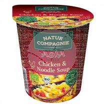Sopa Instantanea Asia Noodles con Pollo Bio Natur Compagnie