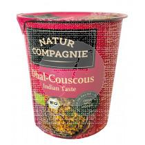 Plato Instantaneo Couscous Indio Bio Natur Compagnie