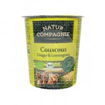 Plato Instantaneo Couscous Jengibre y Lemongrass Bio Natur Compagnie