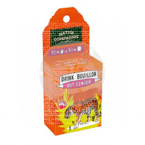 DRINK BOUILLON HOT GINGER BIO NATUR COMPAGNIE