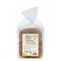 Pan De MolDe integral con Maiz, Curcuma y Pimienta Bio 400Gr Taho Cereal