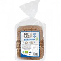 Pan de molde integral con chia Bio 400gr Taho Cereal