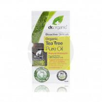 Aceite puro árbol de té biológico 10 ml Dr. Organic