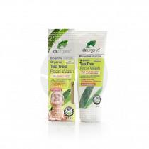 Gel limpiador facial árbol de té biológico 200 ml Dr. Organic
