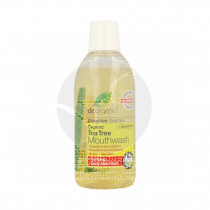 Enjuague bucal de árbol de té biológico 500 ml Dr. Organic