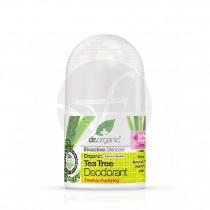 Desodorante de árbol de té biológico 50 ml Dr. Organic