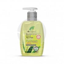 Jabón de manos gel árbol de té biológico 250ml Dr. Organic