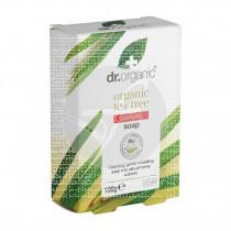 Jabón de árbol de té pastilla biológico 100 gr Dr. Organic