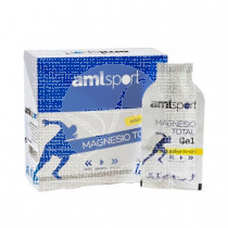 Magnesio Total Gel sabor Limon 12 sobres 10 ml Amlsport