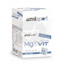 Mg2 + Vit sabor Fresa 20 Sticks Amlsport
