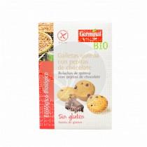 Galletas de Quinoa con Pepitas de Chocolate Bio sin gluten Germinal