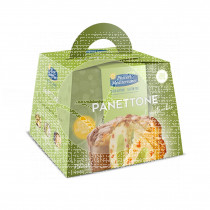 Panettone con crema de pistacho s/g Piaceri Mediterranei
