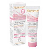 Crema Facial Hidratante Calmante Intensiva Florame