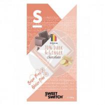 Chocolate negro 70% con jengibre Sweet Switch