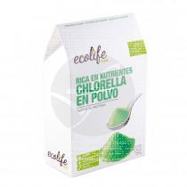 Clorella polvo Bio Ecolife Food
