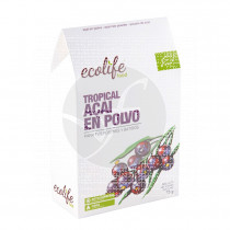 Tropical Acai polvo Bio Ecolife Food