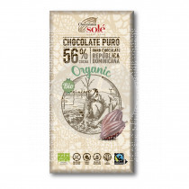 Chocolate Negro 56% cacao Eco Chocolates Solé