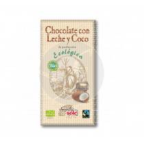 Chocolate con leche y coco Eco sin gluten Sole