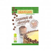 CORAZONES DE CHOCOLATE SIN GLUTEN VEGANO BIO BIOVEGAN